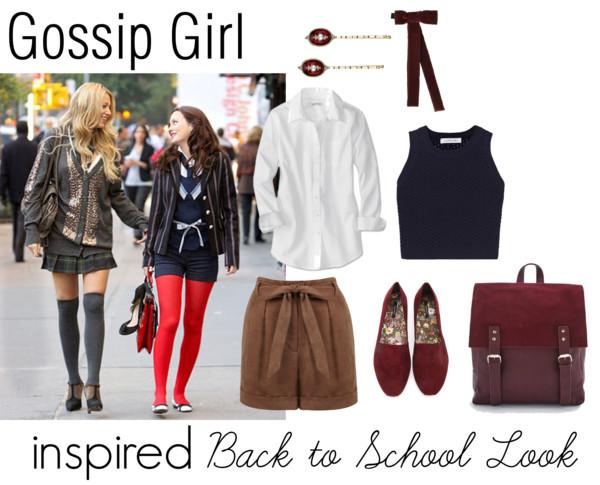 Gossip Girl Inspired Back to School Look