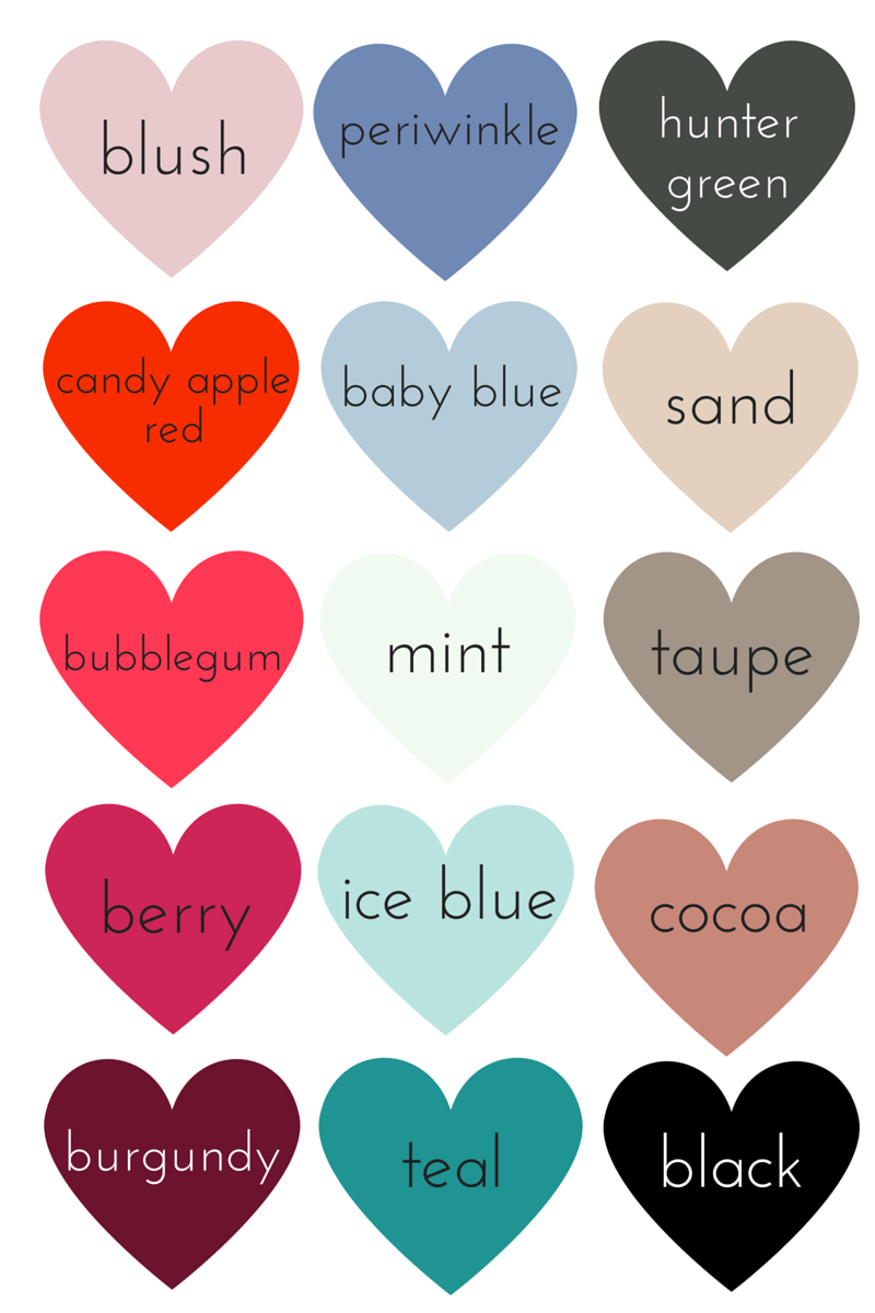 Winter color chart 20152016 whatever bright things winter color chart nvjuhfo Choice Image