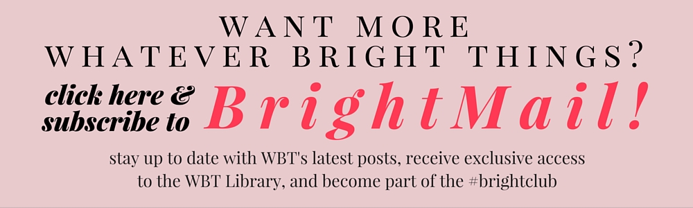 Subscribe to Bright Mail