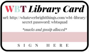 WBT Library Card