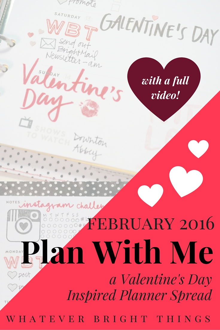 Come see how I decorate my Studio Calico x Hello Forever Planner for Valentine's Day! Using stickers, stamps, washi tape, and markers, you too can create a cute spread to celebrate the holiday.