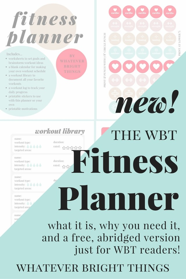 Finally, a workout planner that works for you! With worksheets, planner stickers, motivations, and a workout library and log system, this Fitness Planner is sure to make your workout routine more manageable and enjoyable!