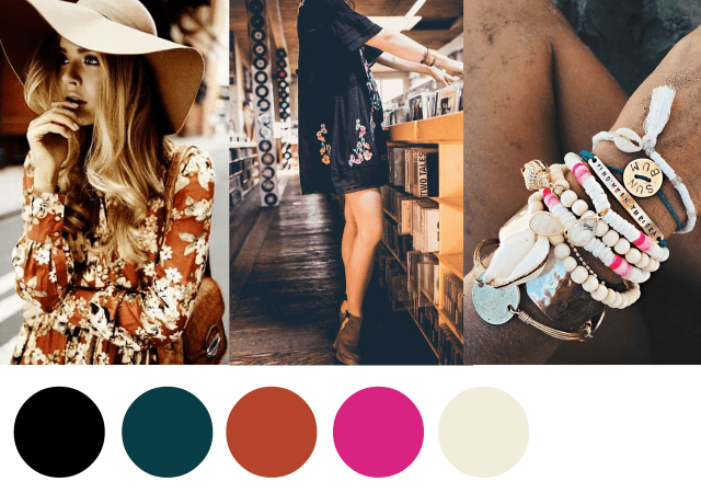 2016 Summer Color Chart