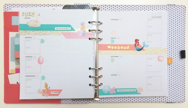 Mermaid Planner Pages