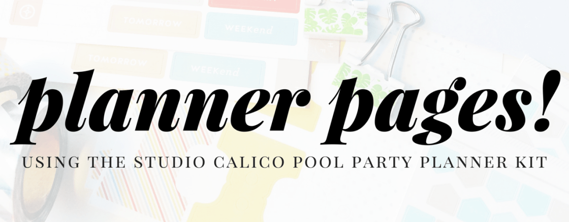 Pool Party Planner Pages