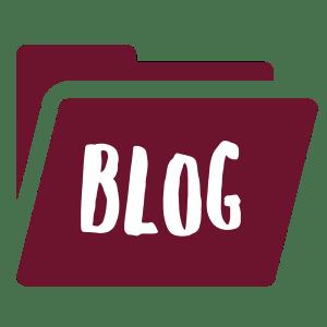 Blog Folder Burgundy