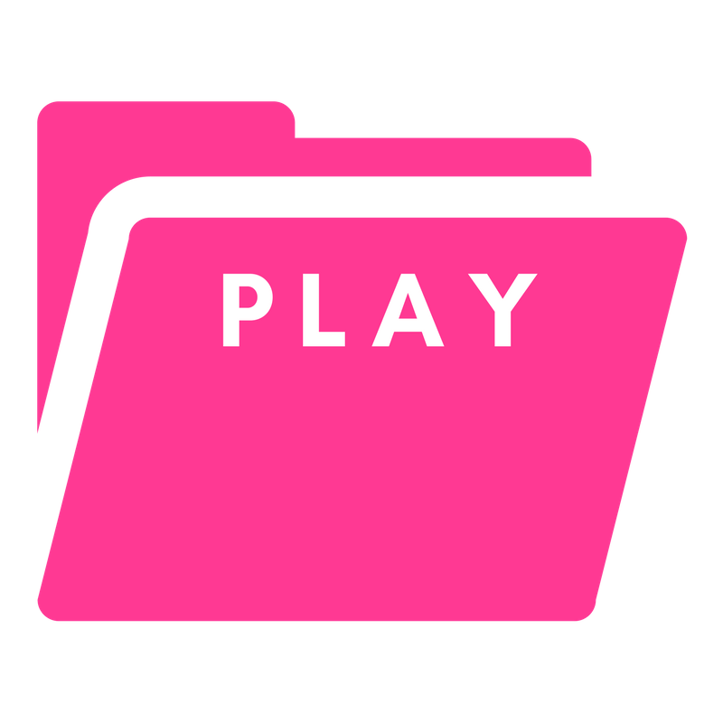 Barbie Pink Folder Play