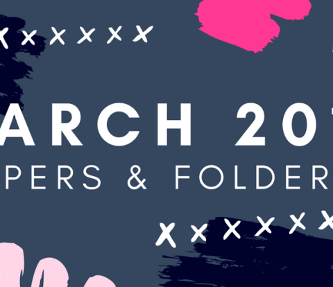March 2017 Wallpapers & Folder Icons