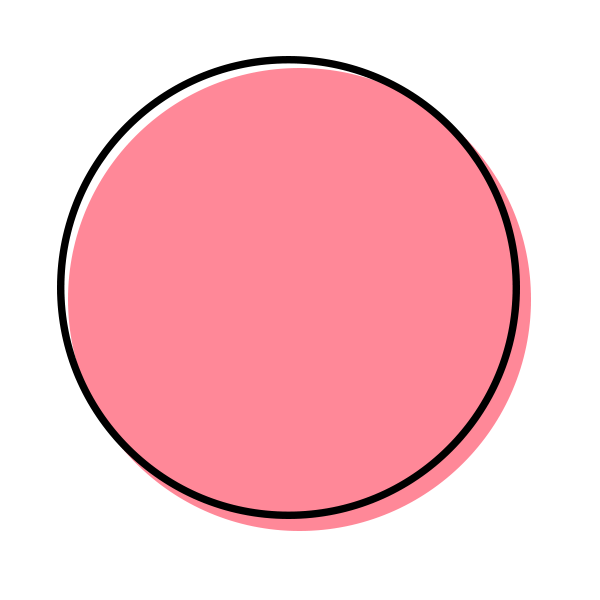 Dot Icon Bubblegum