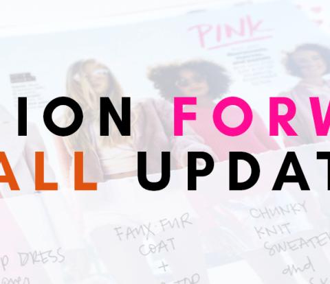 Fashion Forward Fall Update