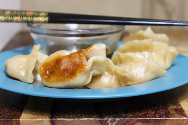 Turkey & Spinach Potstickers