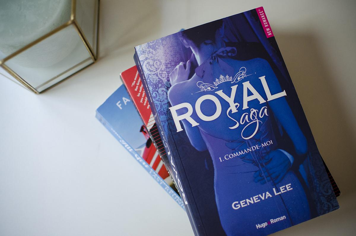 Mes Dernières Lectures #6 - Royal Saga, Geneva Lee
