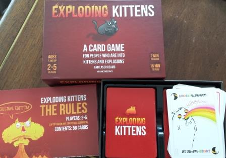 exploding kittens game review