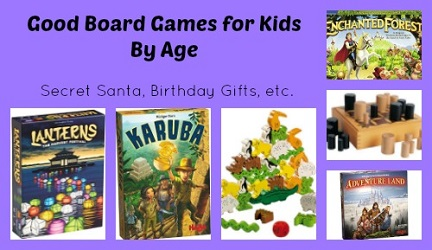 good board games for kids