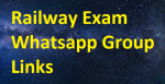 1100+ Railway Exam Whatsapp Group Link 2020-2021