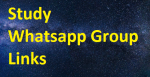 5000+ Study Whatsapp Group Links 2020-21