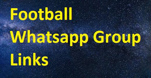 football whatsapp group links