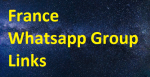 Best of All France Whatsapp Group Links 2021