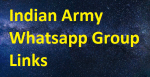 Real 2300+ Indian Army Whatsapp Group Links