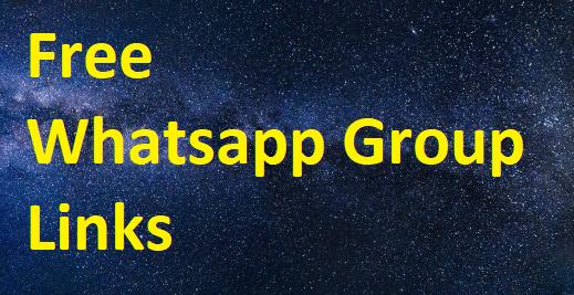 free whatsapp group links