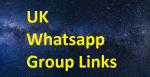 List of UK Whatsapp Group Links 2020-2021
