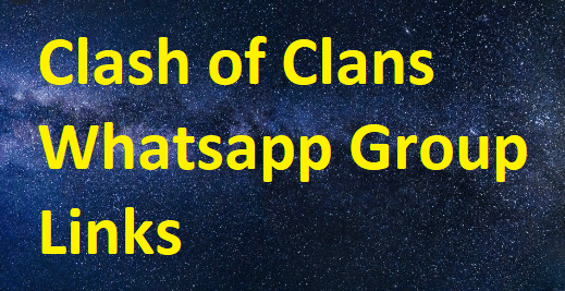 Clash of Clans Whatsapp Group Links