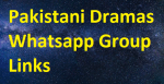 Latest Pakistani Dramas Whatsapp Group Links Free