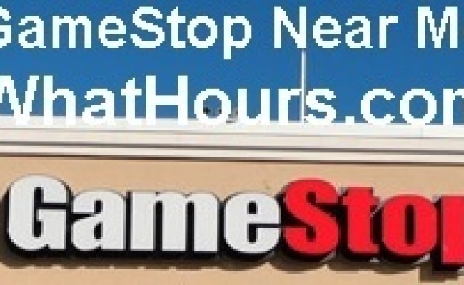 Gamestop Store Open Hours Phone Number Locations Near Me