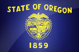 state flag of Oregon