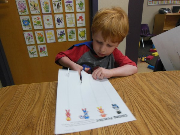 What We Did Today Preschool Template