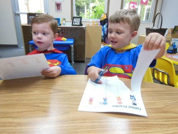Superhero Adventures - Today Oak Hills Preschool