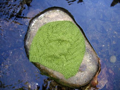 Hat up a creek