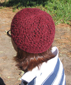 The Santa Cruz hat in sport weight