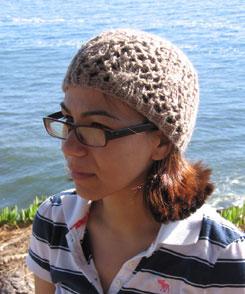 The Santa Cruz hat in bulky weight