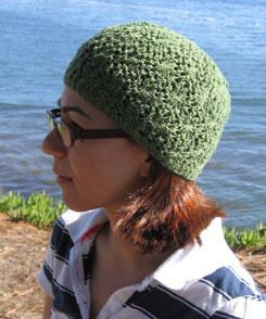 The Santa Cruz hat in sock weight