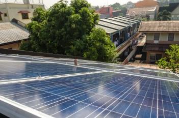 View of Solar Installation