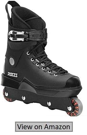 Men's M12 UFS Aggressive Street Italian Inline Skates, Black 101183000081