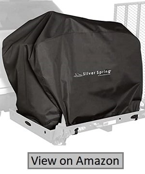 "Silver Spring Mobility Scooter Water Resistant Trans Cover- 53""×26""×32.5"""