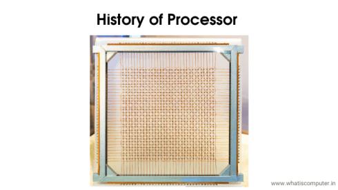 History-of-Processor