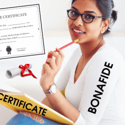 What is a Bonafide Certificate? How to get a Bonafide Certificate