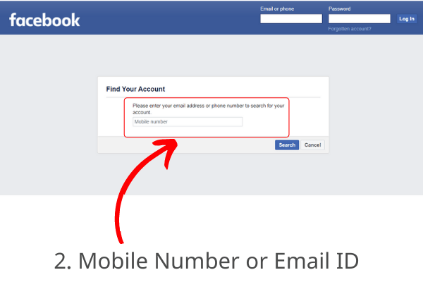 How to Open My Old Facebook account without Password, Mobile Number or Email ID