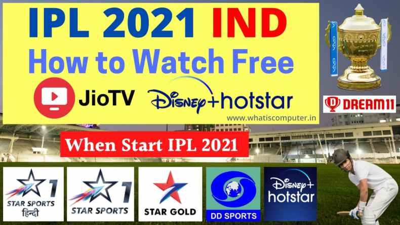 How to Watch Free IPL 2021 on Jio TV | 2021 IPL Live Cricket Free?