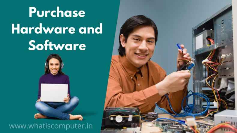 Need to Purchase Hardware and Software, For Computer Training Institute