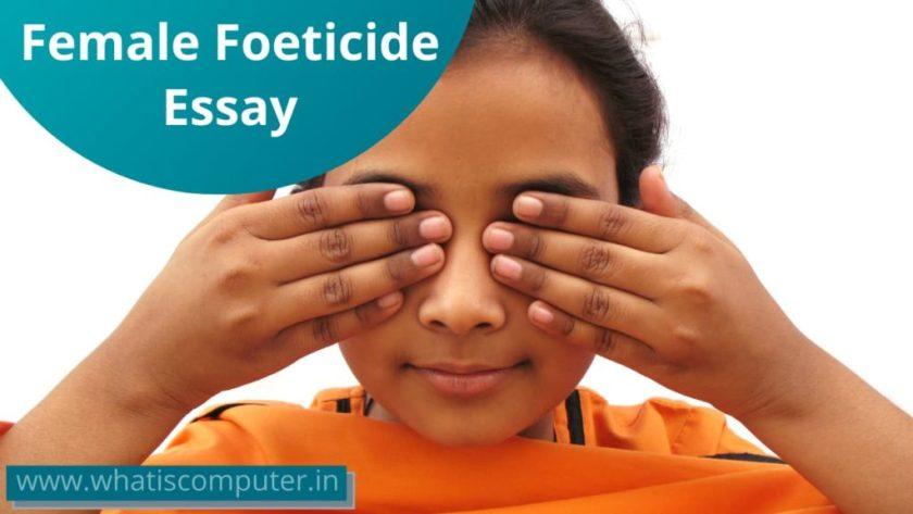 Female Foeticide Essay