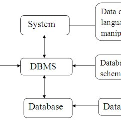 Architecture Software Block Diagram 2000 V6 Mustang Stereo Wiring Database In Dbms With Interaction Of