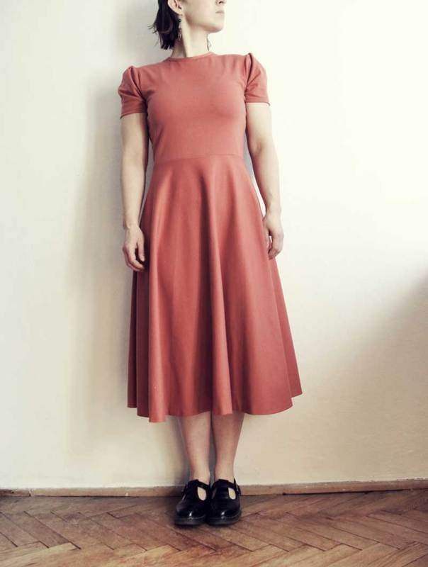 Knipmode jurk