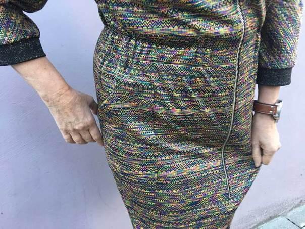 Beryl Bomber Dress