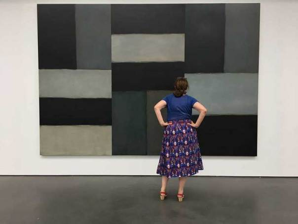 Sean Scully at the Pont