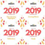 Sewing Top 5 of 2019: misses & highlights & reflections & goals