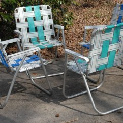 Aluminum Web Lawn Chairs Hammock Chair And Stand Sunbeam Folding What I Shed Today